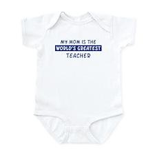 Teacher Mom Infant Bodysuit