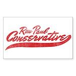 Ron Paul 2012 Rectangle Sticker 10 pk)