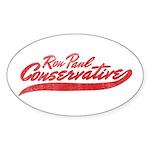 Ron Paul 2012 Oval Sticker (10 pk)