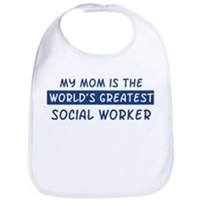 Social Worker Mom Bib