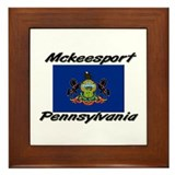 Mckeesport Pennsylvania Framed Tile