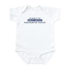 Kindergarten Teacher Mom Infant Bodysuit