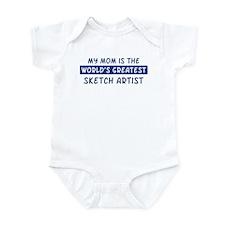 Sketch Artist Mom Infant Bodysuit
