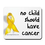 No child cancer Mousepad