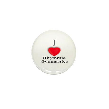 Rhythmic Gymnastics Mini Button