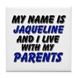 my name is jaqueline and I live with my parents Ti
