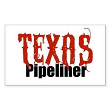 Texas Pipeliner 2 Rectangle Decal