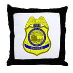 BLM Ranger Throw Pillow