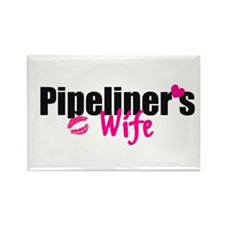 Pipeliner's Wife Rectangle Magnet