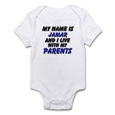 my name is jamar and I live with my parents Infant