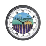 French Lavender Wall Clock
