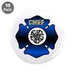 Fire Chief Gold Maltese Cross 3.5