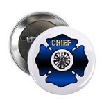 Fire Chief Gold Maltese Cross 2.25