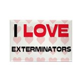 I LOVE EXTERMINATORS Rectangle Magnet (10 pack)