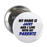 my name is jacey and I live with my parents 2.25""