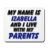 my name is izabella and I live with my parents Mou