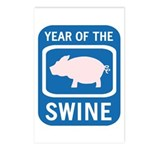 Year of the Swine Postcards (Package of 8)