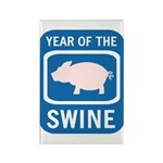Year of the Swine Rectangle Magnet