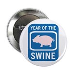 "Year of the Swine 2.25"" Button"