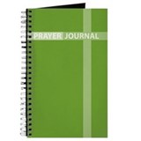 Green Cross Prayer Journal
