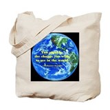 Gandhi-Be the change Tote Bag