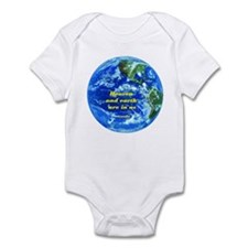 Heaven&earth are in us-Gandhi Infant Bodysuit