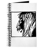 Lion Silhouette Journal