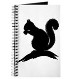 Squirrel Silhouette Journal