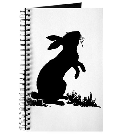 Bunny Silhouette Journal