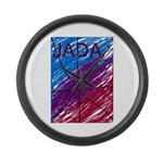 JADA STARR Large Wall Clock