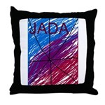 JADA STARR Throw Pillow
