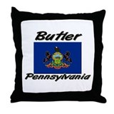Butler Pennsylvania Throw Pillow