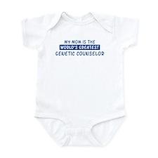 Genetic Counselor Mom Infant Bodysuit