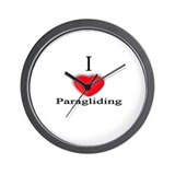 Paragliding Wall Clock