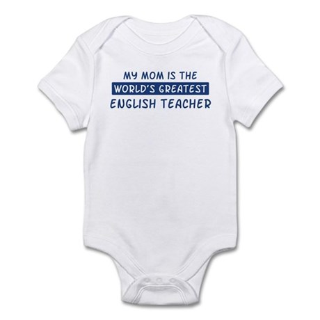 English Teacher Mom Infant Bodysuit