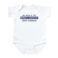 Crop Farmer Mom Infant Bodysuit