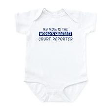 Court Reporter Mom Infant Bodysuit
