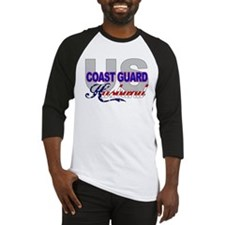 US Coast Guard Husband Baseball Jersey