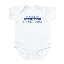 1st Grade Teacher Mom Infant Bodysuit