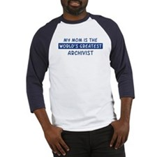 Archivist Mom Baseball Jersey