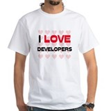I LOVE DEVELOPERS Shirt