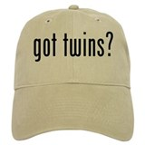 got twins Baseball Cap