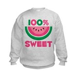 100% Sweet Watermelon Sweatshirt