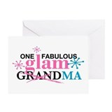 Glam Grandma Greeting Card