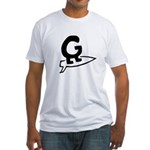 Getaboard Lil' G-Surf Fitted T-Shirt (white)