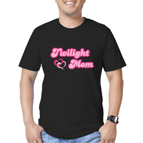 Twilight Mom Men's Fitted T-Shirt (dark)