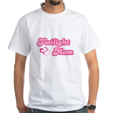 Twilight Mom White T-Shirt