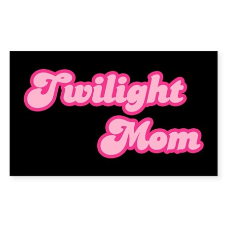 Twilight Mom Rectangle Sticker 10 pk)