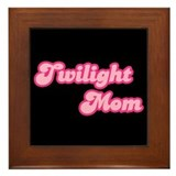Twilight Mom Framed Tile