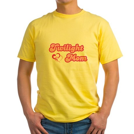 Twilight Mom Yellow T-Shirt